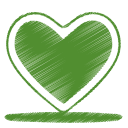 green-heart-icon